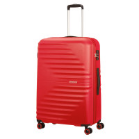 American Tourister Wavetwister Spinner 77 Vivid Red