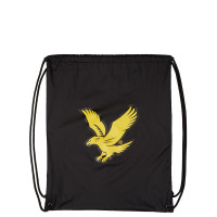 Lyle & Scott Core Gym Sack True Black