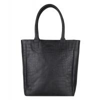 """Cowboysbag X Bobbie Bodt Bag Quartz 13"""" Shopper Croco Black"""
