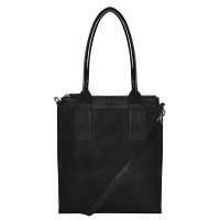 MyK Bag Lotus Schoudertas Black