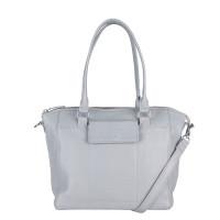 MyK Bag Marlin Schoudertas Silver Grey