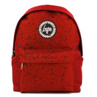 Hype Speckle Rugzak Red/ Black