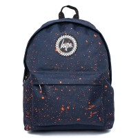 Hype Speckle Rugzak Navy/ Orange