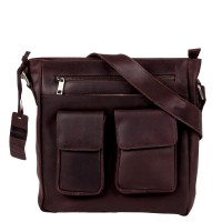 Burkely Vintage Beau Schoudertas Dark Brown 791522