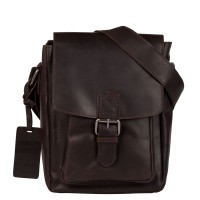 Burkely Vintage Luke Cross Over Shoulderbag Brown