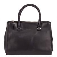 Burkely Vintage Wieske 2-Zipper Shoulder Bag Black