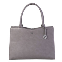 "Socha Businessbag Straight Line 14-15.6"" Mud"