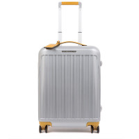 Piquadro Relyght Plus Ultra Slim Spinner 55 Grey/Yellow