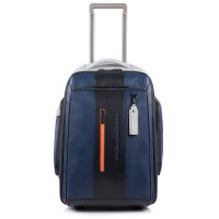 Piquadro Urban Cabin Size Trolley Blue/Grey