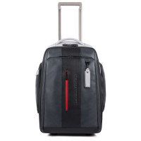 Piquadro Urban Cabin Size Trolley Black/Grey