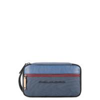 Piquadro Blade Organized Toiletry Bag Blue