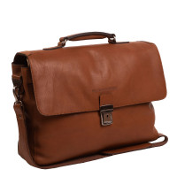 "Chesterfield Iowa Laptoptas 15.6"" Cognac"