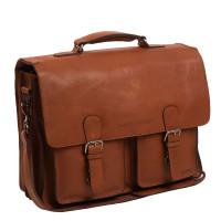 """Chesterfield Idaho Laptoptas 15.6"""" Cognac"""
