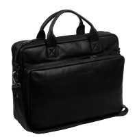 "Chesterfield Jackson Laptoptas 15.6"" Black"