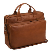 "Chesterfield Jackson Laptoptas 15.6"" Cognac"