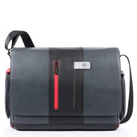 Piquadro Urban Computer Messenger Black/Grey