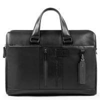 Piquadro Urban Laptop Briefcase 15.6'' Black