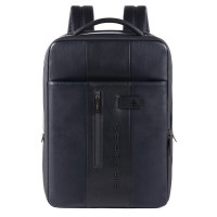 Piquadro Urban Expandable Slim Backpack 15.6'' Blue