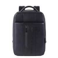 Piquadro Urban Expandable Small Size Slim Backpack 14'' Blue