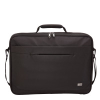 """Case Logic Advantage Laptop Briefcase 17.3"""" Black"""