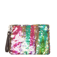 HXTN Supply Clutch Charmed Sequins