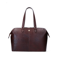 "FMME Christy Laptoptas 15.6"" Croco Brown"