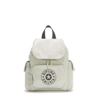 Kipling City Pack Mini Backpack Dynamic Silver
