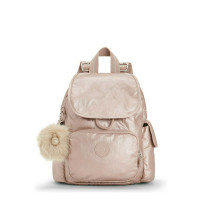 Kipling City Pack Mini Backpack Metallic Blush