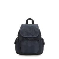 Kipling City Pack Mini Backpack Satin Camo Blue