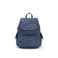 Kipling City Pack S Backpack Blue Eclipse Print