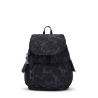 Kipling City Pack S Backpack Mysterious Grid