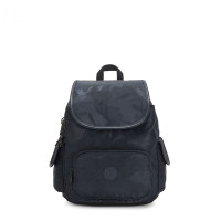 Kipling City Pack S Backpack Satin Camo Blue