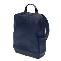Moleskine Classic Leather Backpack Sapphire Blue