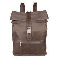"Cowboysbag Backpack Hunter Laptop 15.6"" Storm Grey"