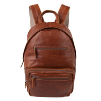 "Cowboysbag Bag Healy Laptop Rugzak 15.6"" Cognac 1914"