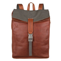 "Cowboysbag Backpack Diablo Laptop 15.6"" Cognac 2148"