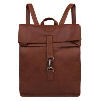 """Cowboysbag Backpack Doral Laptop Rugzak 15"""" Cognac"""