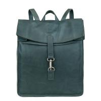 """Cowboysbag Backpack Doral Laptop Rugzak 15"""" Petrol"""