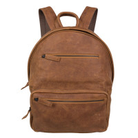 "Cowboysbag Backpack Shiloh 15"" Cognac 2106"