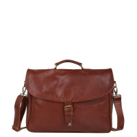 "Cowboysbag Bag Miami 1963 15.6"" Cognac"