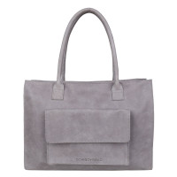 "Cowboysbag Bag Parham Schoudertas 15.6"" Grey 2046"