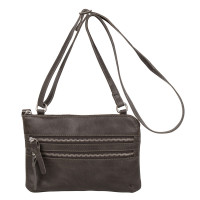 Cowboysbag Bag Tiverton Schoudertas Storm Grey 1677