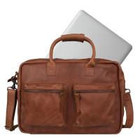 Cowboysbag The College Bag Schoudertas Cognac