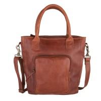 Cowboysbag Schoudertas Bag Mellor 1625 Cognac