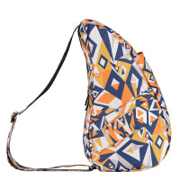 The Healthy Back Bag The Classic Collection Textured Nylon S Prints Cubism