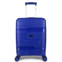 Decent One-City Handbagage Koffer 55 Dark Blue