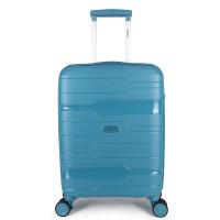 Decent One-City Handbagage Koffer 55 Petrol