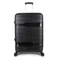 Decent One-City Large Trolley 76 Black