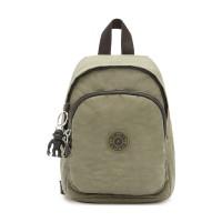 Kipling Delia Compact Small Backpack Green Moss