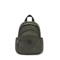 Kipling Delia Mini Backpack Urban Green Jacquard